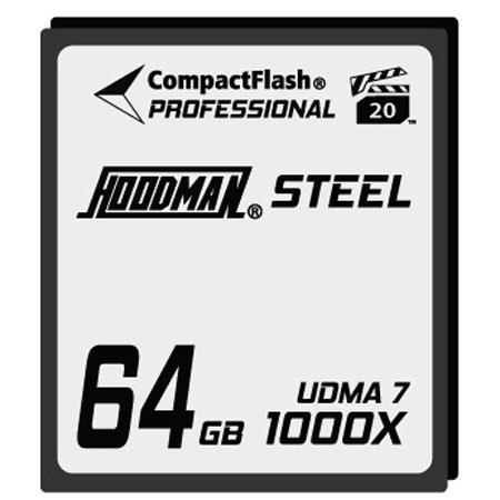 Hoodman RAW Steel Class GB CompactFlash CardHigh Speed 273 - 212