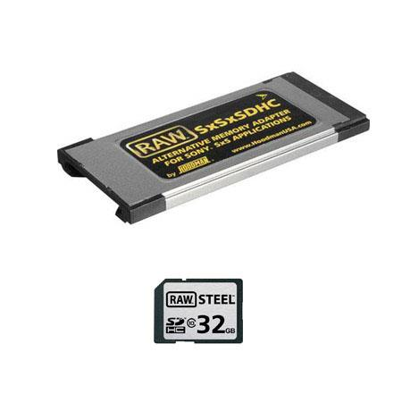 Hoodman GB SDHC Class Memory Card SxS Memory Adapter Kit 238 - 333