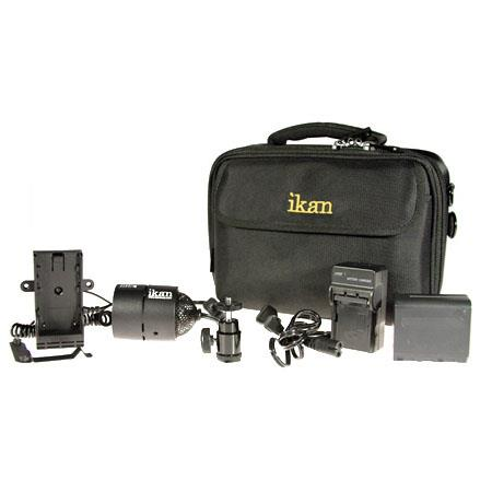 ikan iLED ONE Interchangeable Single Bulb On Camera LED Light Deluxe Kit 144 - 368