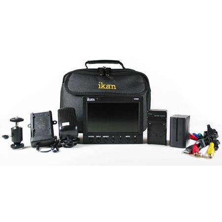 ikan V HD LCD Monitor Deluxe Kit Canon Battery Dedication 95 - 655