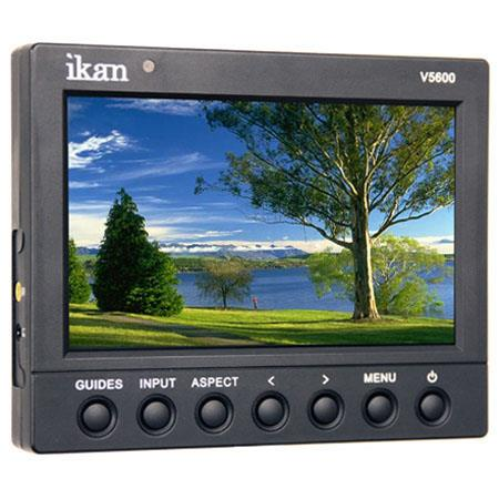ikan V HD LCD Video MonitorResolution or Apect Ratio and HDMI Input Sony Battery Adaptor Plate 29 - 233