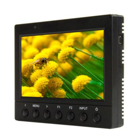 ikan VK P HDMI LCD Monitor Panasonic Battery PlateResolution Contrast Ratio 53 - 386