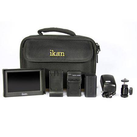 ikan VL DK LCD Monitor Deluxe Kit Panasonic Battery Adapter Plate 145 - 646