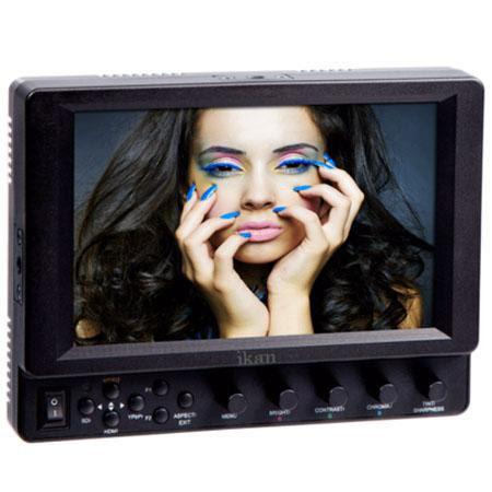 ikan VXi G SDI Camera Monitor IPS Panel and Canon Battery Plate 107 - 508
