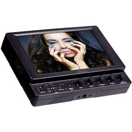 ikan VXi SU G SDI Camera Monitor IPS Panel Sony BP U Battery PlateResolution Aspect Ratio 351 - 149
