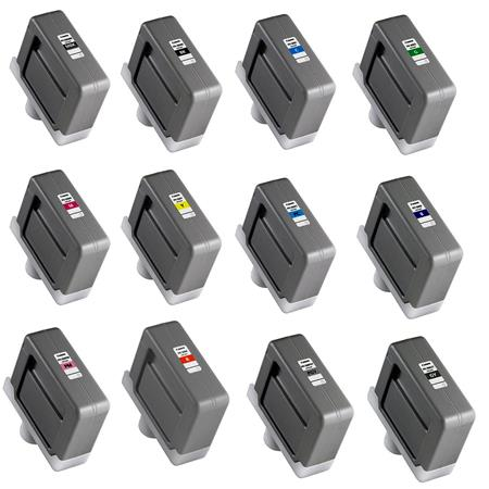 Canon Complete PFI ML Ink Tank iPF iPFS Printers Matte Cyan Magenta Photo Cyan Photo Magenta Blue Ph 95 - 56