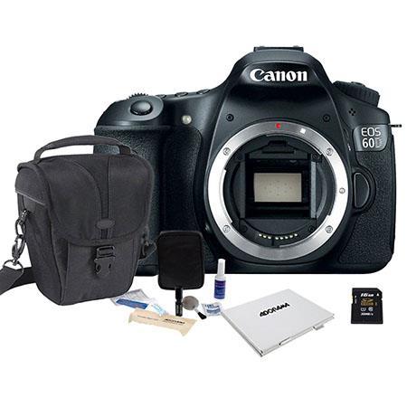 Canon EOS D Digital SLR Camera Body Megapixel Bundle Sandisk GB Ultra SDHC Card Lowepro TLZ Holster  62 - 419