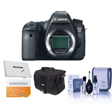 Canon EOS D Digital SLR Camera Body Megapixel Bundle GB SDHC Class Memory Card Adorama Slinger Photo 127 - 207