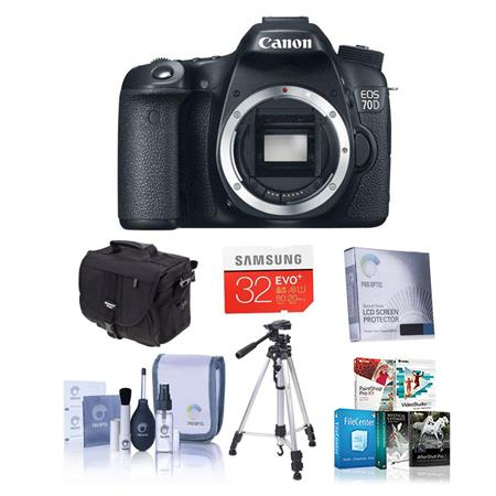 Canon EOS D Digital SLR Camera Body BUNDLE GB SDHC Card Camera Case New Leaf Year Extended Warranty 100 - 274
