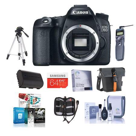 Canon EOS D Digital SLR Camera Body PRIME BUNDLE GB SDHC Card Camera Case Mack Year Extended Warrant 94 - 712