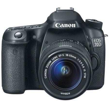 Canon EOS D Digital SLR Camera Body Kit EF S F IS STM Lens  259 - 797