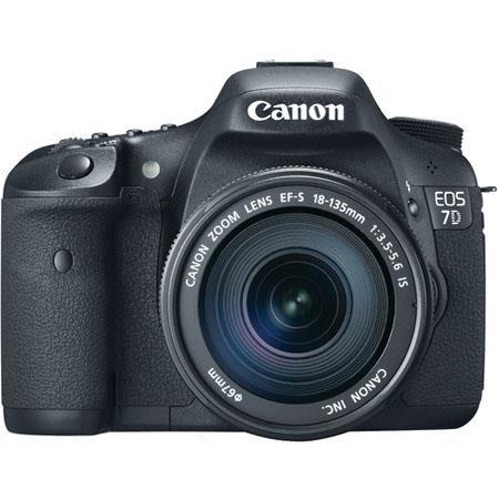 Canon EOS D Digital SLR Camera Lens Kit Canon EF S f IS Auto Focus Lens 112 - 463