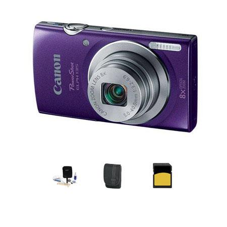 Canon PowerShot ELPH Digital Camera MPOptical Zoom Bundle GB Class SDHC Card LowePro Dublin Case Cle 185 - 583