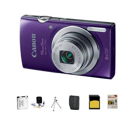 Canon PowerShot ELPH Digital Camera MPOptical Zoom Bundle GB Class SDHC Card LowePro Dublin Case Spa 82 - 696