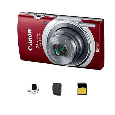 Canon PowerShot ELPH IS Digital Camera MPOptical Zoom Bundle GB Class SDHC Card LowePro Dublin Case  138 - 657