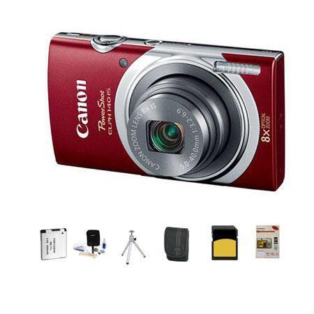 Canon PowerShot ELPH IS Digital Camera MPOptical Zoom RED Bundle GB Class SDHC Card LowePro Dublin C 69 - 59