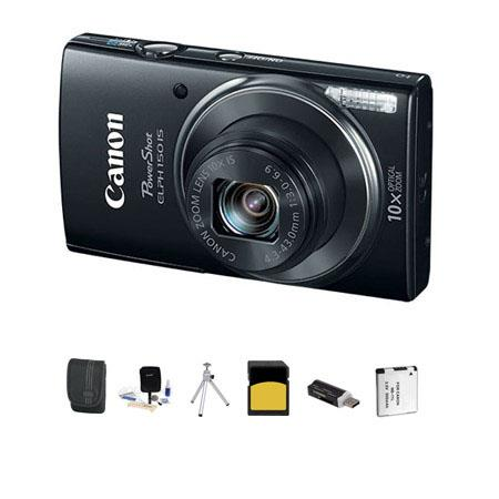 Canon PowerShot ELPH IS ELPH Digital Camera MPOptical Zoom Bundle GB Class SDHC Card Lowepro Case Sp 12 - 712