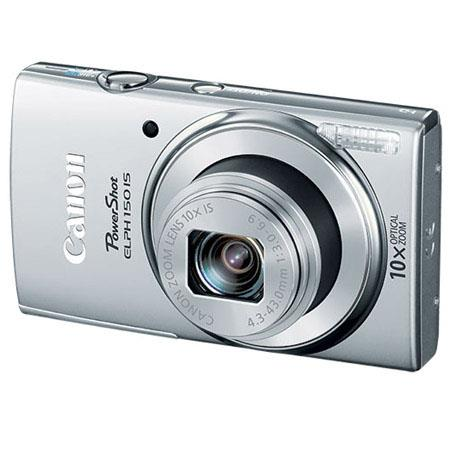 Canon PowerShot ELPH IS ELPH Digital Camera MPOptical Zoom p HD Video Smart AUTO Silver 85 - 282