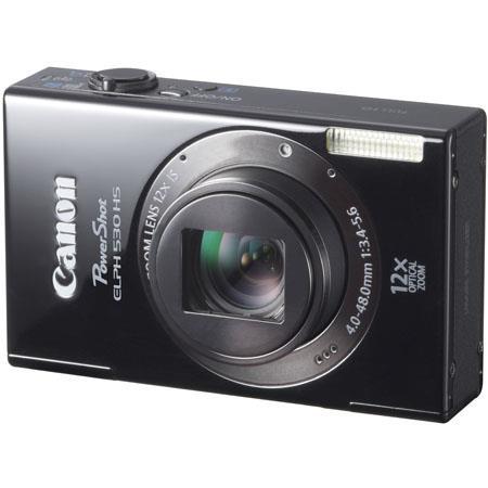 Canon PowerShot ELPH HS Digital Camera Megapixel Wide Angle Lens CMOS SensorOptical Zoom LCD USB  137 - 231