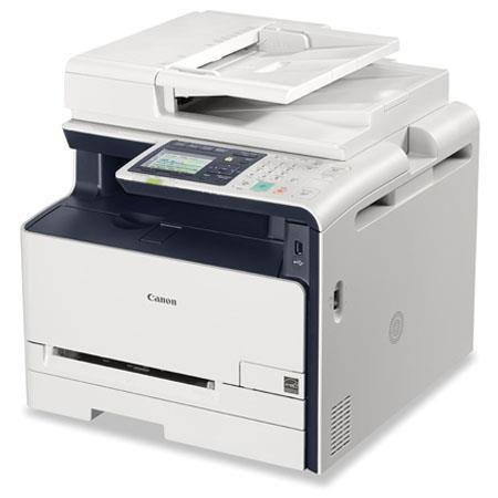 Canon ImageCLASS MFCW Color All One Laser Printer ppm Print Speeddpi USB Ethernet Print Copy Scan Fa 185 - 302