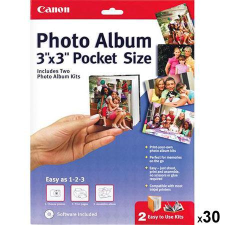 CanonPocket Size Inkjet Photo Album Software  118 - 587