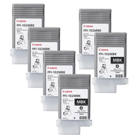 Canon PFI MBK ml Matte Ink Cartridge Pack 110 - 36
