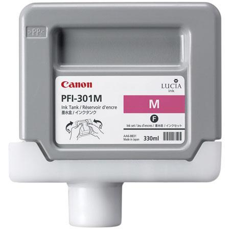 Canon PFI M Magenta Ink Tank the imagePROGRAF iPF and iPF Inkjet Printers ml 17 - 258
