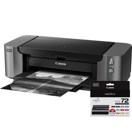 Canon PIXMA PRO Professional Photo Inkjet Printer Bundle Canon PGI Color Pack 45 - 614