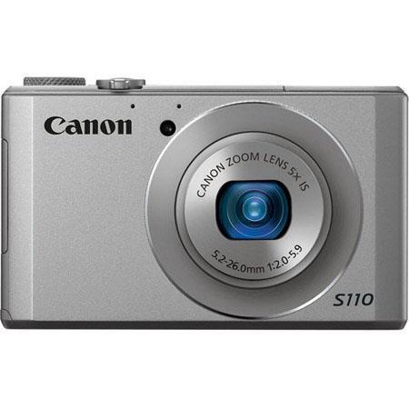 Canon PowerShot S Digital Camera MP CMOS SensorOptical Zoom UA Lens LCD Display Silver 199 - 11