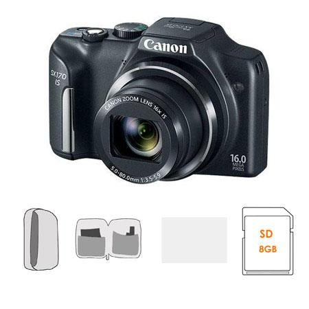Canon PowerShot SX IS Digital Camera MPOptical Zoom Bundle GB SDHC Memory Card Lowepro Dublin Camera 201 - 66