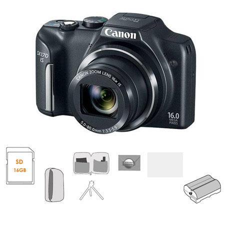 Canon PowerShot SX IS Digital Camera MPOptical Zoom Bundle GB SDHC Memory Card Lowepro Dublin Pouch  88 - 235
