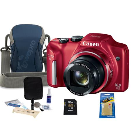 Canon PowerShot SX IS Digital Camera MPOptical Zoom Bundle GB SDHC Memory Card Lowepro Dublin Camera 97 - 629