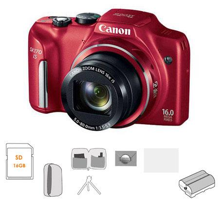 Canon PowerShot SX IS Digital Camera MPOptical Zoom Bundle GB SDHC Memory Card Lowepro Dublin Pouch  133 - 475