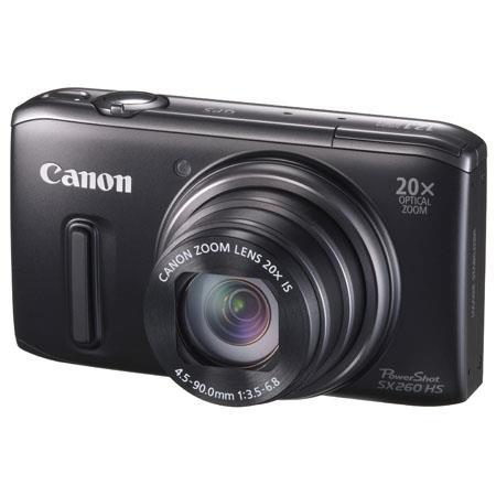 Canon PowerShot SX HS Digital Camera Megapixel Wide Angle Lens CMOS SensorOptical Zoom LCD  175 - 95