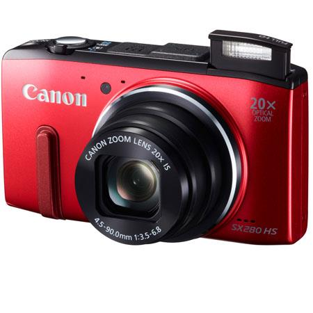 Canon PowerShot SX HS Digital Camera MPOptical ZoomDigital Zoom Full HD p Video Capture LCD Monitor  196 - 139