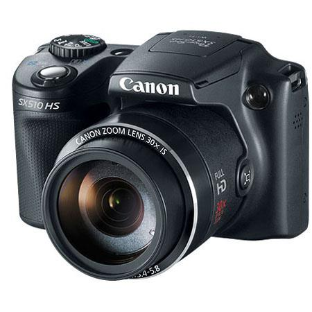 Canon PowerShot SX HS Digital Camera MPOptical Zoom p HD Video Optical Image Stabilizer WiFi Connect 69 - 406