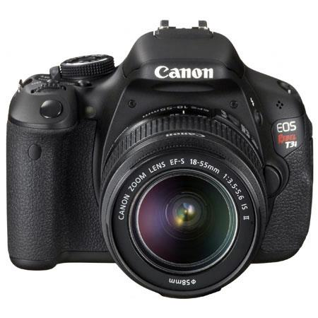 Canon EOS Rebel Ti Digital SLR Camera Megapixel Full HD Movie Mode Canon EF S f IS Lens 59 - 378