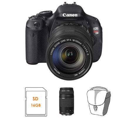 Canon EOS Rebel Ti Digital SLR Camera Kit Canon EF S f IS Lens EF f III Lens 58 - 209