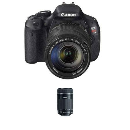 Canon EOS Rebel Ti DSLR Camera Canon EF S EF S f IS Lens Bundle Canon EF S f IS STM Lens 223 - 233