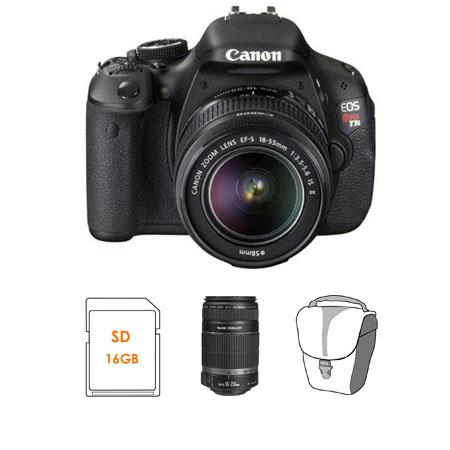 Canon EOS Rebel Ti Digital SLR Camera Kit Canon EF S IS Lens EF S f IS Lens 228 - 198