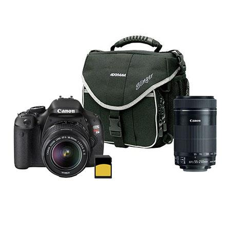 Canon EOS Rebel Ti SLR Camera Canon EF S IS Lens Bundle Canon EF S f IS STM Lens 285 - 497