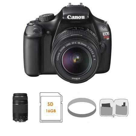 Canon EOS Rebel Digital SLR Camera Kit Canon EF S IS Lens EF f III Lens 161 - 591