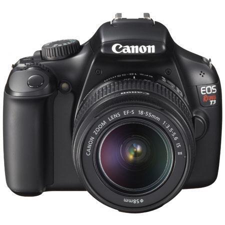 Canon EOS Rebel Digital SLR Camera EF S f IS Lens Refurbished 99 - 278