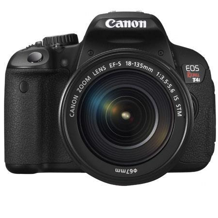 Canon EOS Rebel Ti Digital SLR Camera Kit EF S f IS STM Lens USA 60 - 456