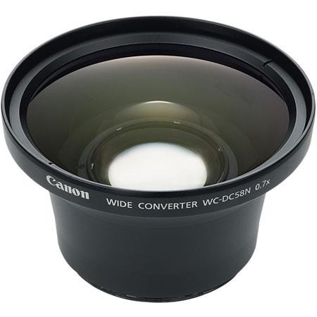 Canon WC DCWide Angle Conversion Lens the Powershot G G G A A A Digital Cameras 144 - 368