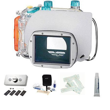 Canon WP DC Waterproof Housing PowerShot Digital Camera Accessory Kit includes Canon WW DC Weight Se 118 - 168