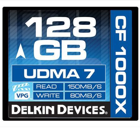 Delkin GB Compact FlashUDMA Memory Card MBs Read MBs Write Made the USA 223 - 291