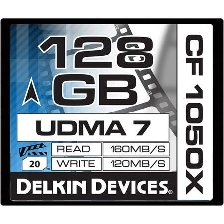 Delkin GB CFX UDMA Cinema Memory Card MBs Read MBs Write Made USA 233 - 760
