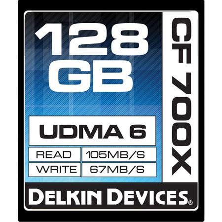 Delkin GB CompactFlash Memory Card MBs Read Speed MBs Write Speed Made the USA 75 - 544