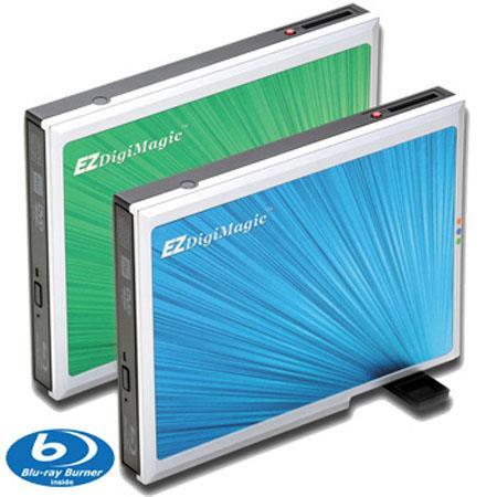 EZDigiMagic DM BD External Slim Type Blu Ray Burner forwith One Key Back Up 49 - 578